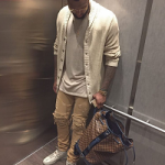 Lewis Hamilton Spotted Rocking A Pair Of K1X & Patrick