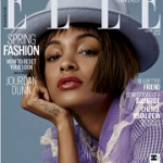 British Fashion Model Jourdan Dunn Covers Elle UK's April 2016 Issue; Speaks On Diversity In The Fashion Industry