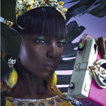 Fashion Model Leomie Anderson Is The Face Of Flair Spring/Summer 2016 Ad Campaign