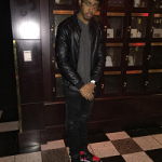 """Fashionisto Of The Day: Bryce Neely In Mike Amiri MX2 Black Wax Jeans & Air Jordan 1 """"Bred"""""""