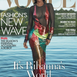 Rihanna Covers Anna Wintour's Vogue April 2016 In A Tom Ford Dress; Plus Styles In Givenchy Haute Couture, Saint Laurent, Ralph Lauren Collection & Marchesa