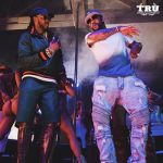 Celebs Fashion: 2 Chainz & The Game Wear A Gucci Web And Snake Jersey Jacket & Shorts