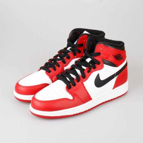 Air Jordan 1 Retro HIGH OG (GS) Chicago Bulls1