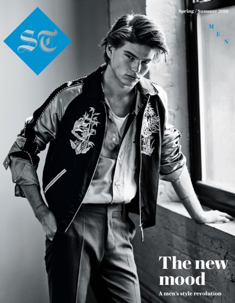 Australian Model Jordan Barrett Covers The Sunday Telegraph1