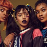 CrazySexyCool: Alécia Morais, Cheyenne Carty & Sahara Lin Transforms Into TLC For Models.com