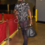 NBA Style: Draymond Green Wears A Dolce & Gabbana Bird Print Polo & Saint Laurent Hedi Chelsea Boots