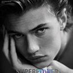 Fashion Model Lucky Blue Smith For DSection Magazine