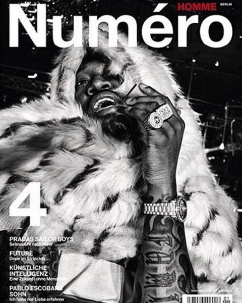 Future Covers Numéro Homme Berlin No. 4