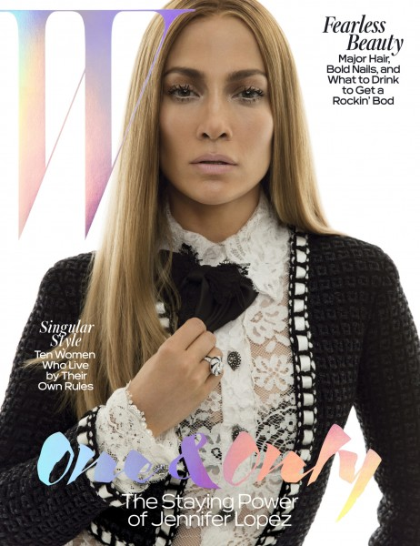 Jennifer Lopez Covers W Magazine 1