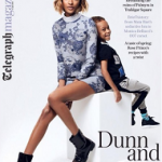 Dunn & Son: Jourdan Dunn & Her Son Riley For Telegraph Magazine