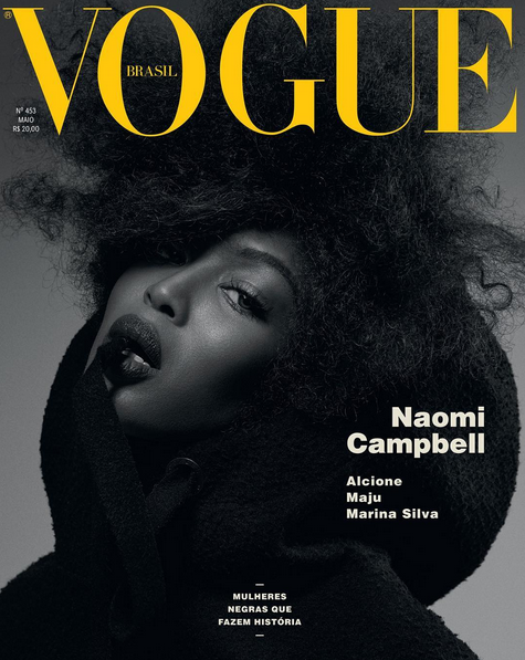 Naomi Campbell's Three Vogue Brasil Covers 2