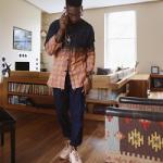 Celebs Style: Tinie Tempah & Pusha T Wear A Saint Laurent Plaid Multi Shirt