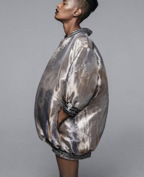 Ysaunny Brito, Cai Lee, & Alecia Morais For Harper's Bazaar6