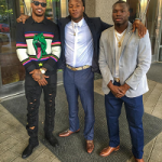 NFL Fashion: Jaelen Strong Styles In A Saint Laurent Dinosaur-Intarsia Wool-Blend Sweater