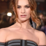 Beauty News: Lily James Is the New Face Of My Burberry