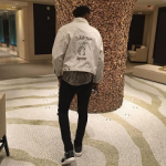 Nick Young Outfitted In An Enfants Riches Deprimes Jacket