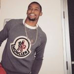 Trey Burke Spotted Wearing A Moncler Capsule Logo Sweater