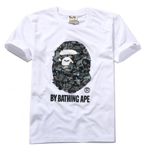 A Bathing Ape Bape Space Camo White Tee-Shirt1