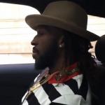 NBA Player DeMarre Carroll Rocks A Gucci Snake-Appliqué Cotton Shirt