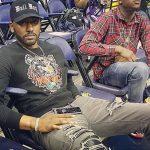 NBA Player John Wall Sports A Kenzo Tiger Sweatshirt
