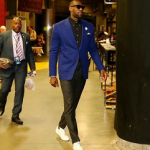 NBA Style: LeBron James Looks Dapper In A Tom Ford