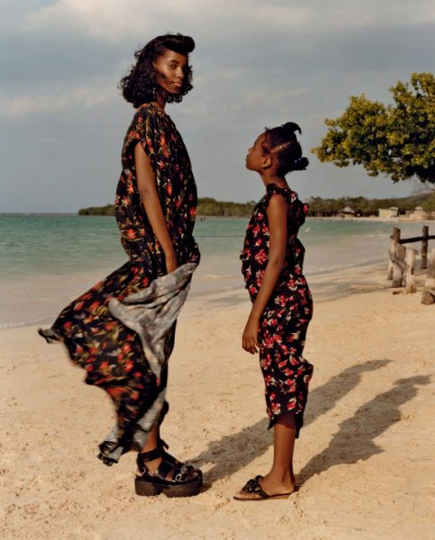 Models Lineisy Montero & Tami Williams For Vogue June 2016 1