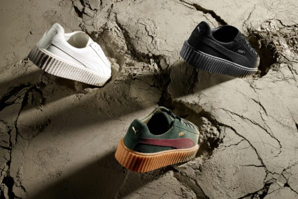 Rihanna Unveils Three New Fenty Creeper Colorways