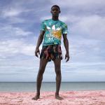 "Rontez Valentine Stars In The Pharrell Williams x Adidas Originals ""Pink Beach"" Collection Campaign"