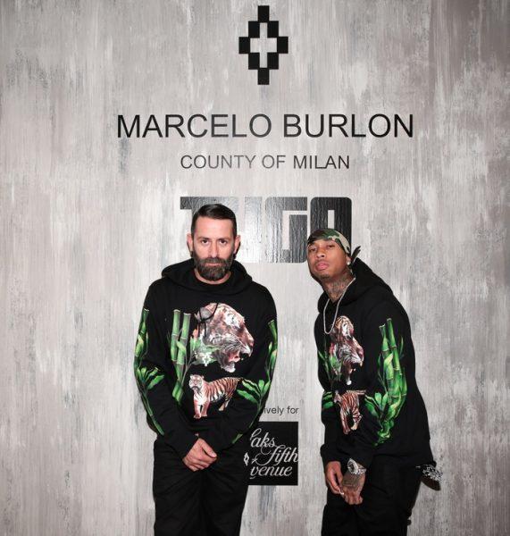 Marcelo Burlon, Tyga