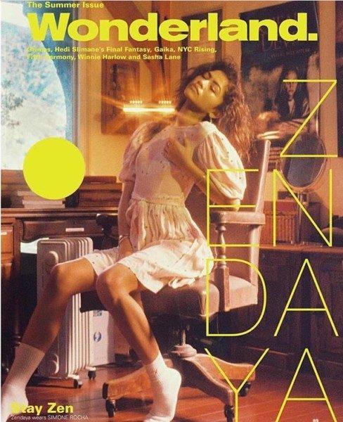 Zendaya And Winnie Harlow For Wonderland Magazine Summer Issue 2