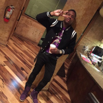 "Lil Durk Wears A Saint Laurent Black Teddy Bomber Jacket; Releases ""She Just Wanna"" Ft. Ty Dolla $ign"