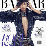 Harper's Bazaar June 2016: Chanel Iman Pays Homage to Prince