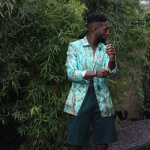 Celebs Style: Tinie Tempah & Lucky Blue Smith Wear Pieces From Gucci Spring 2016 Menswear