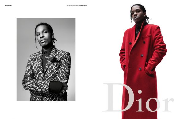 A$AP Rocky Is The New Face Dior Homme 1