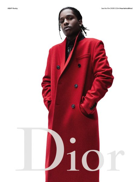 A$AP Rocky Is The New Face Dior Homme 2