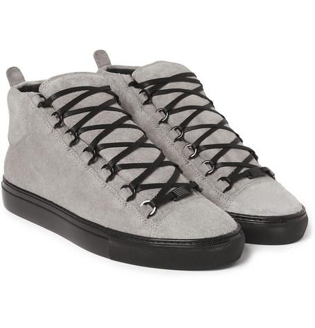 Balenciaga Arena Suede High Top Sneakers 1