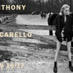 Eva Herzigová Stars In Anthony Vaccarello's Fall/Winter 2016 Ad Campaign