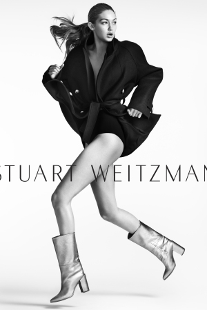 Gigi Hadid Fronts Stuart Weitzman Fall 2016 Ad Campaign
