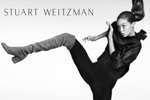 Gigi Hadid Fronts Stuart Weitzman Fall 2016 Ad Campaign2