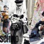 Moschino Fall 2016 Ad Campaign Starring Raquel Zimmermann, Stella Tennant, Anna Cleveland & Anja Rubik