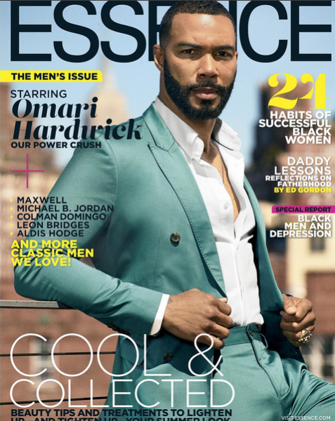 Omari Hardwick & Maxwell For ESSENCE Magazine1