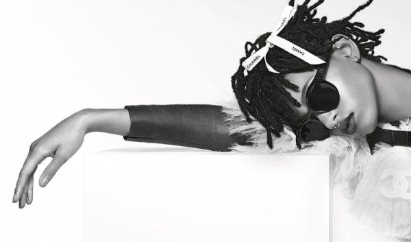Willow Smith Fronts Karl Lagerfeld's Chanel Eyewear Campaign