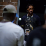 Passion For Fashion: Future Wears A Givenchy Rottweiler-Print Cotton Jersey Tee-Shirt