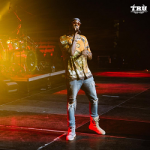 2 Chainz Performs In A Gucci Animal Tiger Print Linen Jersey Tee-shirt