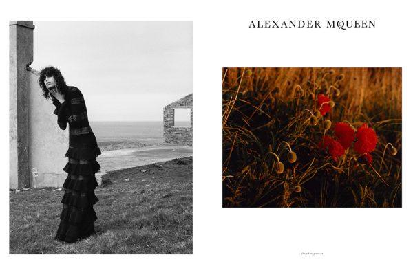Alexander McQueen's Fall Winter 2016 Ad Campaign 1