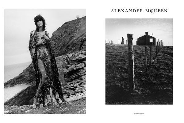 Alexander McQueen's Fall Winter 2016 Ad Campaign 2