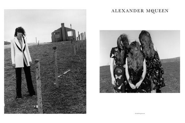 Alexander McQueen's Fall Winter 2016 Ad Campaign 3