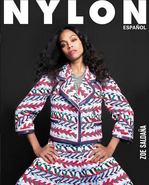 Amandla Stenberg & Zoe Saldana For Nylon Español's Summer Issue3