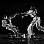 Kanye West Stars In Another Balmain Campaign, The French House Ads Are Becoming Repetitive