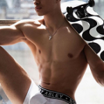 Model Miguel Harichi Fronts Bobby Abley's Fall/Autumn 2016 Ad Campaign